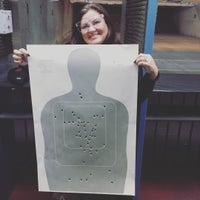 Photo taken at Ted's Shooting Range by Becky D. on 11/28/2015