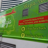 Photo taken at Baja Taco Truck by Erica N. on 6/28/2013
