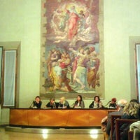 Photo taken at Cappella Farnese by Eleonora R. on 3/21/2013
