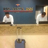 Photo taken at Rio Vista Inn by Miguel C. on 4/18/2013