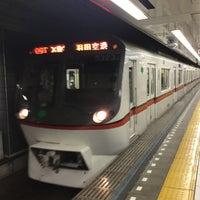 Photo taken at Asakusa Line Oshiage Station (A20) by yoshi_rin on 2/26/2017