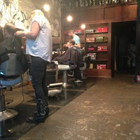 Photo taken at Rudy's Barbershop by Matthew C. on 5/13/2013