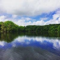 Photo taken at Lake Fairfax Park by Oksana on 5/9/2015