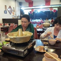 Photo taken at Babura Dimsum & Steamboat by Hartono R. on 3/8/2014