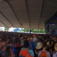 Photo taken at Other Tent at Bonnaroo Music & Arts Festival by James B. on 6/13/2014