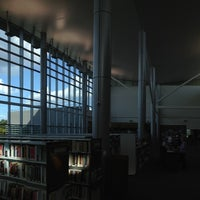 Photo taken at Main Library at Goodwood by James B. on 10/7/2014