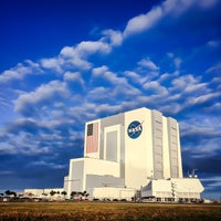 Photo taken at Kennedy Space Center Vehicle Assembly Tour by Alex d. on 12/3/2014