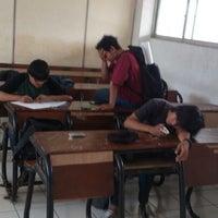Photo taken at Universitas Krisnadwipayana (Unkris) by Docira F. on 5/23/2013