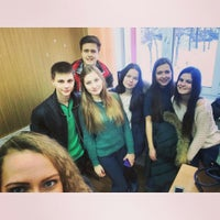 Photo taken at школа 6 by Nadya A. on 1/28/2015