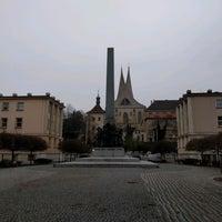 Photo taken at Náměstí pod Emauzy by Jakub P. on 11/26/2016