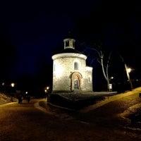 Photo taken at Rotunda sv. Martina | Rotunda of St. Martin by Jakub P. on 1/15/2017