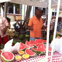 Photo taken at Little Rock Farmers' Market by Rebecca B. on 6/22/2013