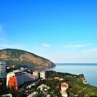 Photo taken at Вершина горы Балгатура by Viktor V. on 5/24/2014