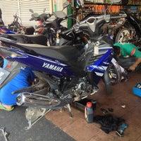 Photo taken at Hong Chen Motor, Castrol Bike Point by arfxamn on 2/26/2014