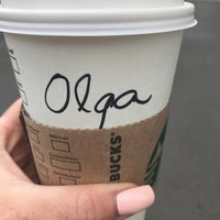 Photo taken at Starbucks by Olga S. on 5/3/2017