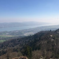 Photo taken at Uetliberg Aussichtsturm by Antonia on 4/8/2017