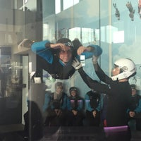 Photo taken at Airspace Indoor Skydiving by Arnaud V. on 4/8/2017