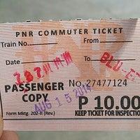 Photo taken at PNR (Blumentritt Station) by Jefferson G. on 8/14/2014