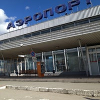 Photo taken at Bolshoye Savino International Airport (PEE) by Настя О. on 5/4/2013