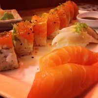 Photo taken at Wa Sushi by Joel L. on 7/5/2013