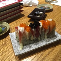 Photo taken at Isobune Sushi by David F. on 3/20/2017