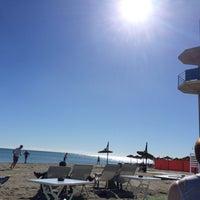 Foto tomada en El Horno Beach por Vi el 2/1/2015