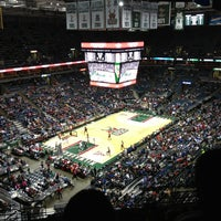 Photo taken at BMO Harris Bradley Center by Aivis L. on 4/2/2013