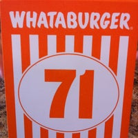 Photo taken at Whataburger by Brian L. on 6/15/2013