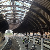 Photo taken at Newcastle Central Railway Station (NCL) by Manu Z. on 10/6/2012