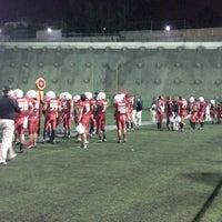 Photo taken at Estadio JOM UVM by Alexis M. on 10/18/2014
