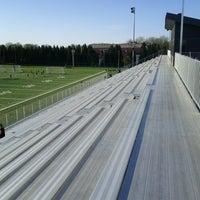 Photo taken at Stade Alphonse-Desjardins by Steven C. on 5/10/2013