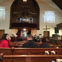 Photo taken at The Village Church by Peter N. on 5/7/2017