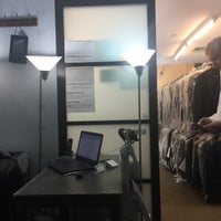 Photo taken at Alterations.com Men's Tailor Shop by Peter N. on 4/28/2017