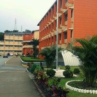 Photo taken at Universidad Tecnológica de Panamá - Campus Central Dr. Víctor Levi Sasso by Jesús B. on 8/6/2013