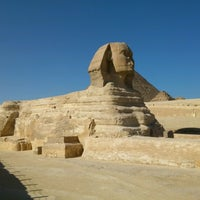 Photo taken at Great Sphinx of Giza by Ari K. on 12/12/2012