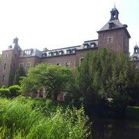 Photo taken at Schloss Neersen by Verena H. on 7/4/2013