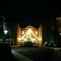 Photo taken at Schloss Neersen by Verena H. on 12/18/2015