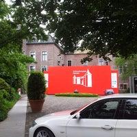 Photo taken at Schloss Neersen by Verena H. on 6/26/2013