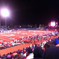 Photo taken at Roos Field by Brent S. on 12/9/2012