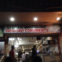 Photo taken at Sri Vasavi Condiments by Vishal K. on 11/20/2013