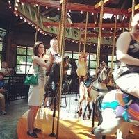 Photo taken at Bear Mountain Carousel by Jazka Marie P. on 6/22/2014