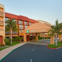 Photo taken at Embassy Suites by Hilton San Luis Obispo by Kevin P. on 2/14/2014