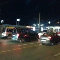 Photo taken at Nilüfer Otobüs Durağı by Nimet T. on 11/10/2013