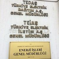 Photo taken at Tedaş Genel Müdürlüğü by Şahin . on 11/1/2016