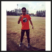 Photo taken at Kompleks Sukan MPSJ by Azrul Raimie R. on 7/7/2013