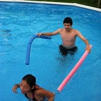 Photo taken at Miss Paula's Pool by Paula W. on 7/20/2013