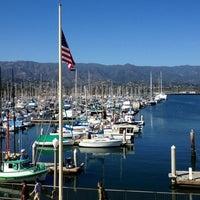Photo taken at Santa Barbara Harbor by Jason M. on 7/16/2013