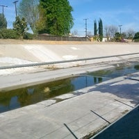 Photo taken at LA River Bike Path by chris m. on 1/29/2014