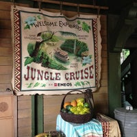 Photo taken at Jungle Cruise by yo0yo0 on 6/17/2013