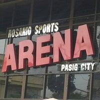Photo taken at Rosario Sports Arena by RuNNiNG SuPLaDo on 3/10/2013